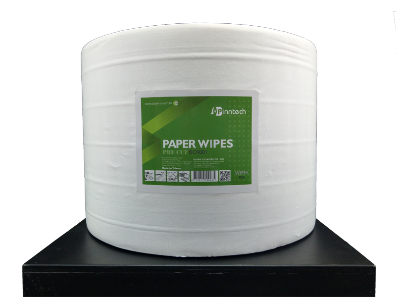 026 Long fiber paper wipes